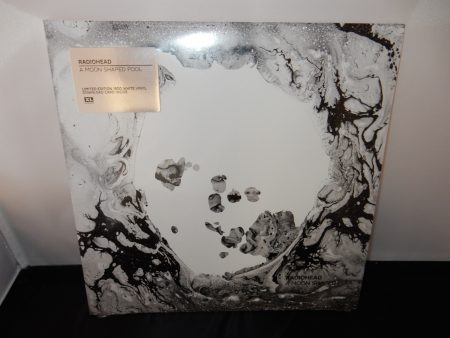 "Radiohead ""A Moon Shaped Pool"" 2XLP Ltd Ed White Vinyl"