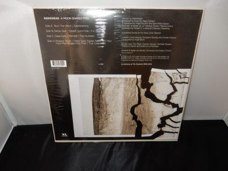 "Radiohead ""A Moon Shaped Pool"" 2XLP Ltd Ed White Vinyl"