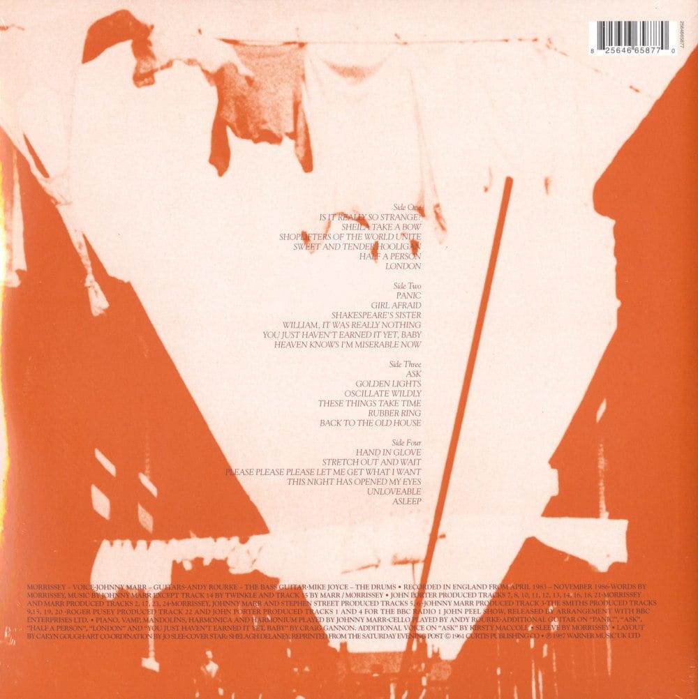 "Smiths ""Louder Than Bombs"" Remastered 180 Gram 2XLP Vinyl Gatefold"