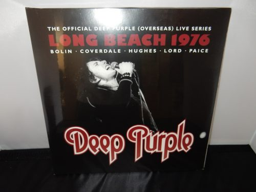 "Deep Purple ""Live at Long Beach Arena 1976"" Ltd Ed 3XLP Vinyl 2016 Import"