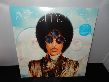 "Prince ""Art Official Age"" 2XLP Vinyl 2014 New Sealed Record"