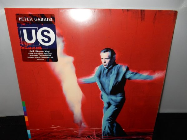 "Peter Gabriel ""Us"" 3XLP Vinyl Limited Edition Numbered Gatefold"