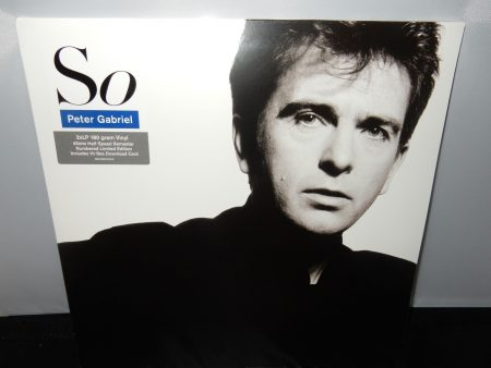 "Peter Gabriel ""So"" 3XLP Vinyl Limited Edition Numbered Gatefold"