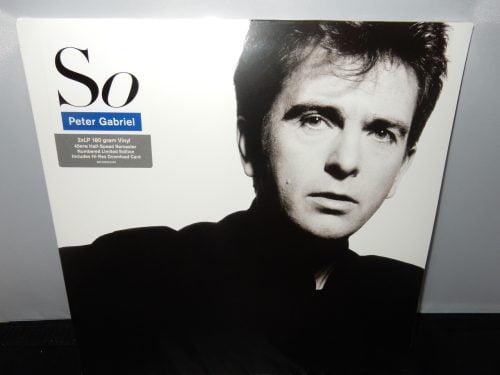 "Peter Gabriel ""So"" 3XLP Vinyl Limited Edition Numbered Gatefold"