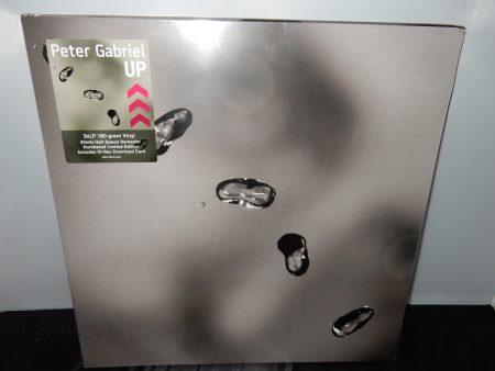 "Peter Gabriel ""Up"" 3XLP Vinyl Limited Edition Numbered Gatefold"