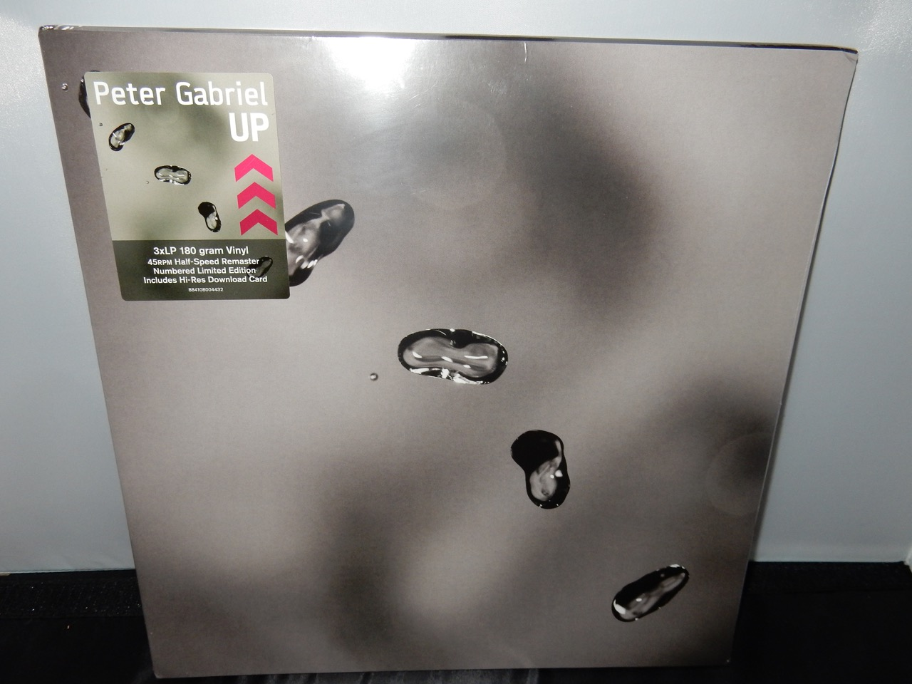 "Peter Gabriel ""Up"" 3XLP Vinyl Limited Edition Numbered Gatefold"