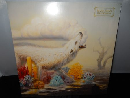 "Rival Sons ""Hollow Bones"" Vinyl LP with Autographed Inner Sleeve"