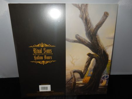 "07152016new2Rival Sons ""Hollow Bones"" Vinyl LP with Autographed Inner Sleeve-"