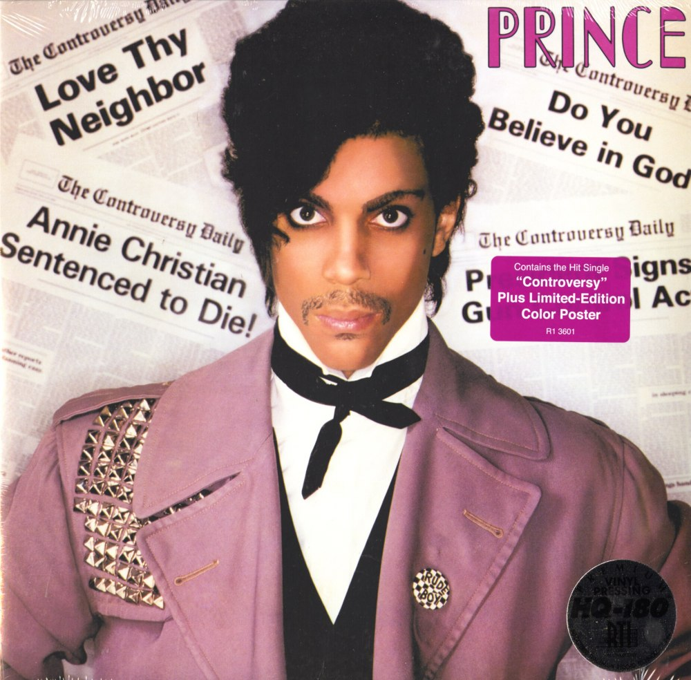Prince - Controversy - Limited Edition, 180 Gram, Vinyl, LP, Remastered, Warner Brothers, 2011