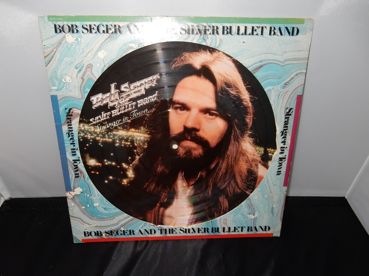 "Bob Seger & The Silver Bullet Band ‎""Stranger In Town"" Picture Disc 1978 Vinyl LP"