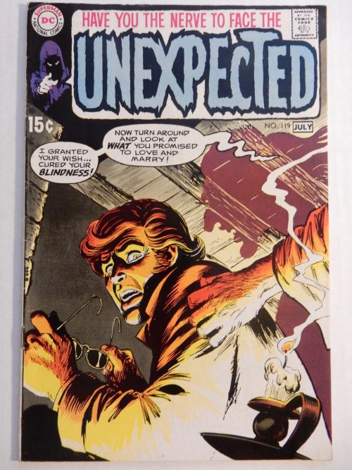 Unexpected #119 Bernie Wrightson, Nick Cardy 1970 Early Bronze Age Comic DC
