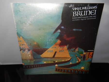 "Vinyl Williams ""Brunei"" Ltd Ed Turquoise Colored Vinyl LP 2016 New"