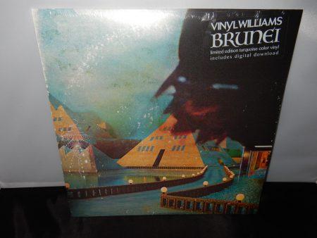 """Vinyl Williams """"Brunei"""" Ltd Ed Turquoise Colored Vinyl LP 2016 New"""