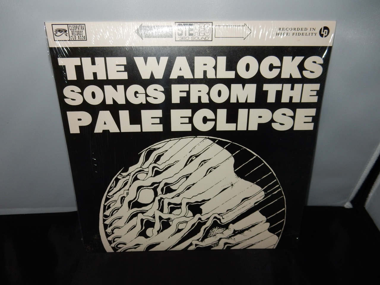 "The Warlocks ""Songs From The Pale Eclipse"" Ltd Ed Psych Rock Vinyl LP"