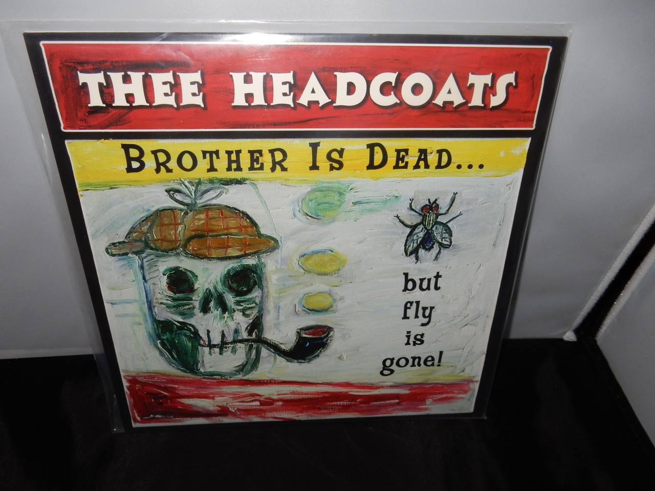"""Thee Headcoats """"Brother Is Dead But Fly Is Gone"""" Ltd Ed Remastered Import Vinyl LP"""