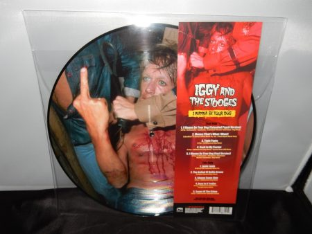"Iggy & The Stooges ""I Wanna Be Your Dog"" Picture Disc Vinyl LP"