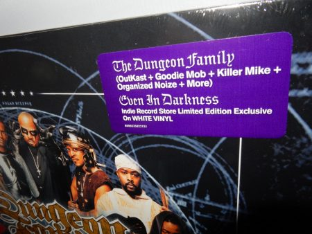 "Dungeon Family ""Even In Darkness"" 2XLP Ltd Ed White Vinyl Reissue"