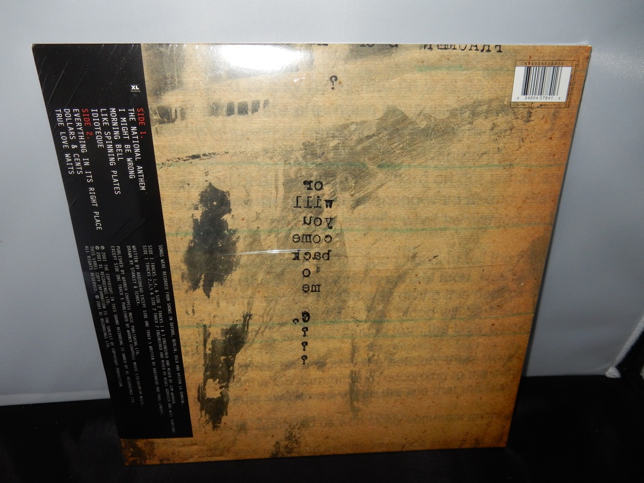 "Radiohead ""I Might Be Wrong"" XL Recordings 2016 Reissue NEW"