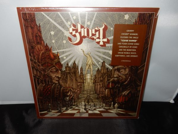 "Ghost ""Popestar"" Vinyl EP 2016 NEW Square Hammer + 4 Covers"