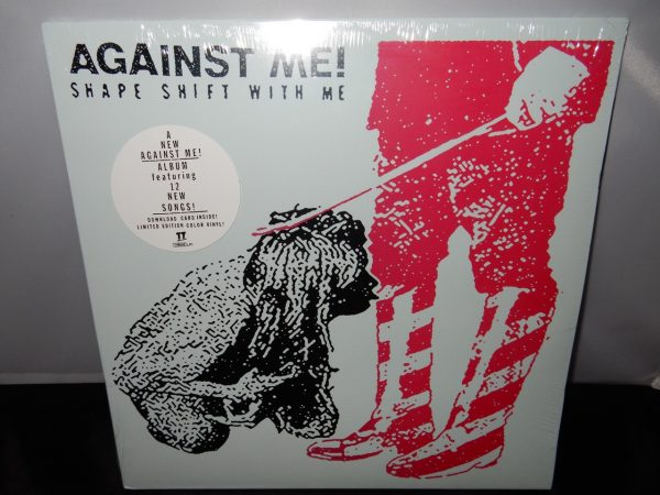 "Against Me ""Shape Shift With Me"" 2XLP Gatefold Ltd Ed White Vinyl"