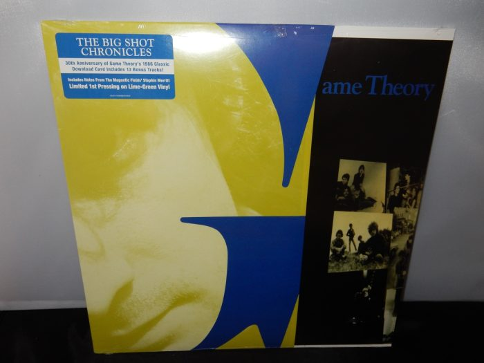 """Game Theory """"The Big Shot Chronicles"""" Ltd Ed Lime Green Colored Vinyl LP Reissue"""