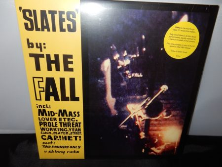 "The Fall ""Slates"" 10"" Limited Vinyl EP - first domestic issue since 1981"
