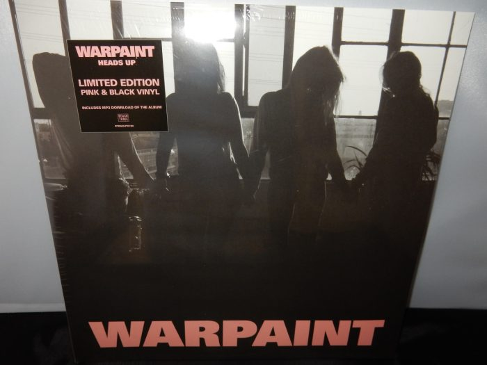 "Warpaint ""Heads Up"" 2XLP Limited Edition Colored Vinyl"