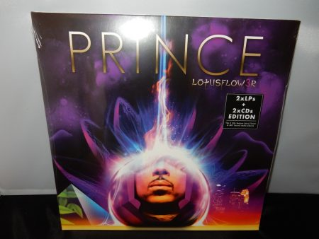 "Prince ""Lotusflow3r and MPLSound"" 2XLP Vinyl with 2 CDs Reissue"