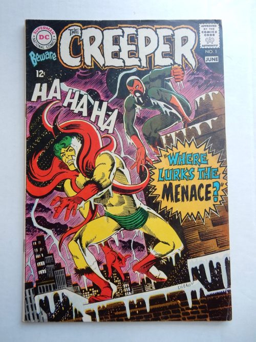 Steve Ditko - The Creeper #1