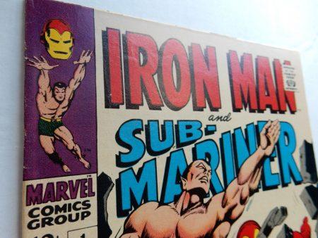 Iron Man and Sub-Mariner #1 Silver Age Marvel 1968 Gene Colan