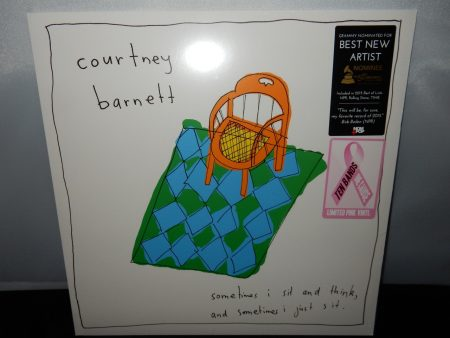 "Courtney Barnett ""Sometimes I Sit And Think..."" Limited Edition Pink Vinyl LP 2016"