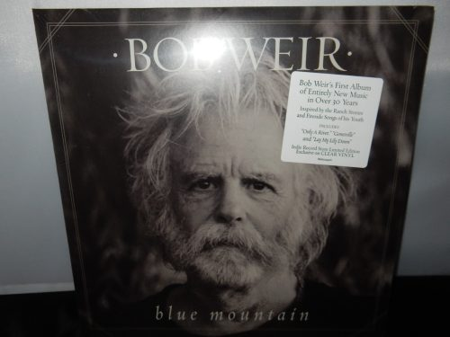 "Bob Weir ""Blue Mountain"" Limited Edition Clear Vinyl LP 2016 Grateful Dead"