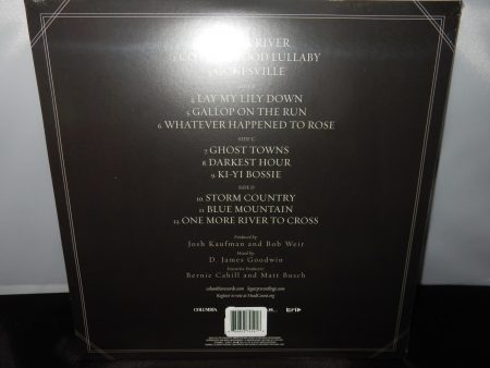 "Bob Weir ""Blue Mountain"" Limited Edition Clear Vinyl LP 2016 Grateful Dead"