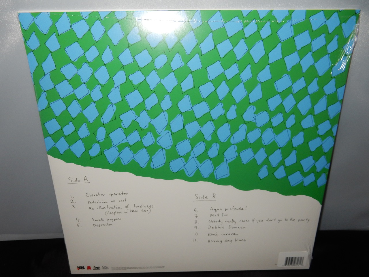 """Courtney Barnett """"Sometimes I Sit And Think..."""" Limited Edition Pink Vinyl LP 2016"""