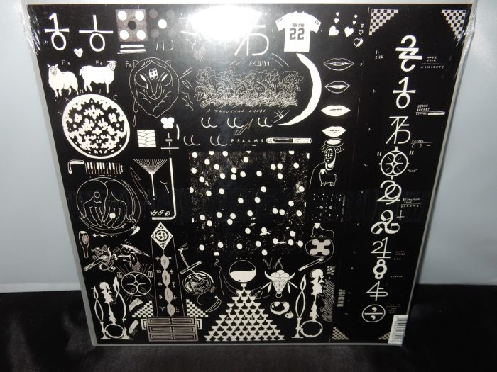 "Bon Iver ""22, A Million"" Vinyl LP 2016 New Jagjaguwar Records"