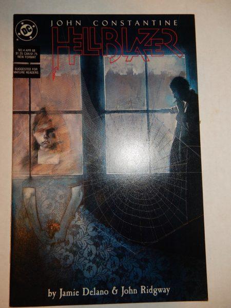 John Constantine Hellblazer - Dave McKean cover