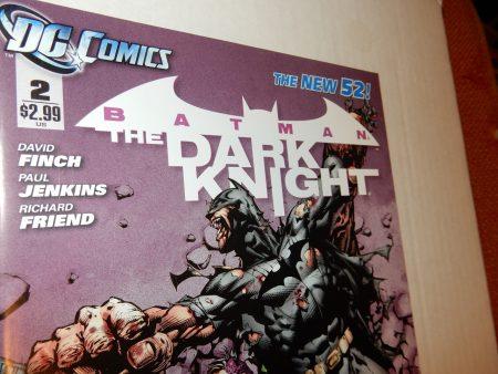 Batman: The Dark Knight #2 2011 New 52 David Finch, Two-Face