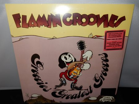 "Flamin' Groovies ""Groovies Greatest Hits"" Vinyl LP 2016"