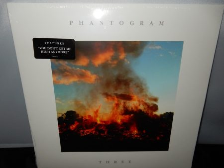 "Phantogram ""Three"" Vinyl LP 2016 You Don't Get Me High"