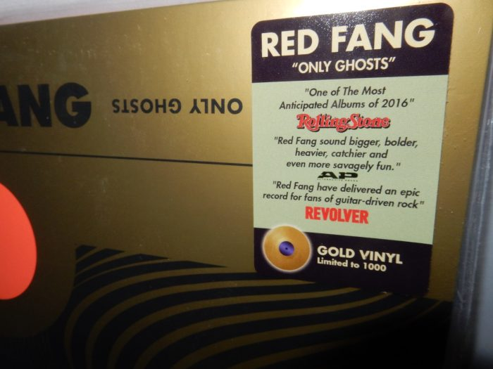 """Red Fang """"Ghosts"""" Ltd Ed Gold Colored Vinyl LP NEW"""
