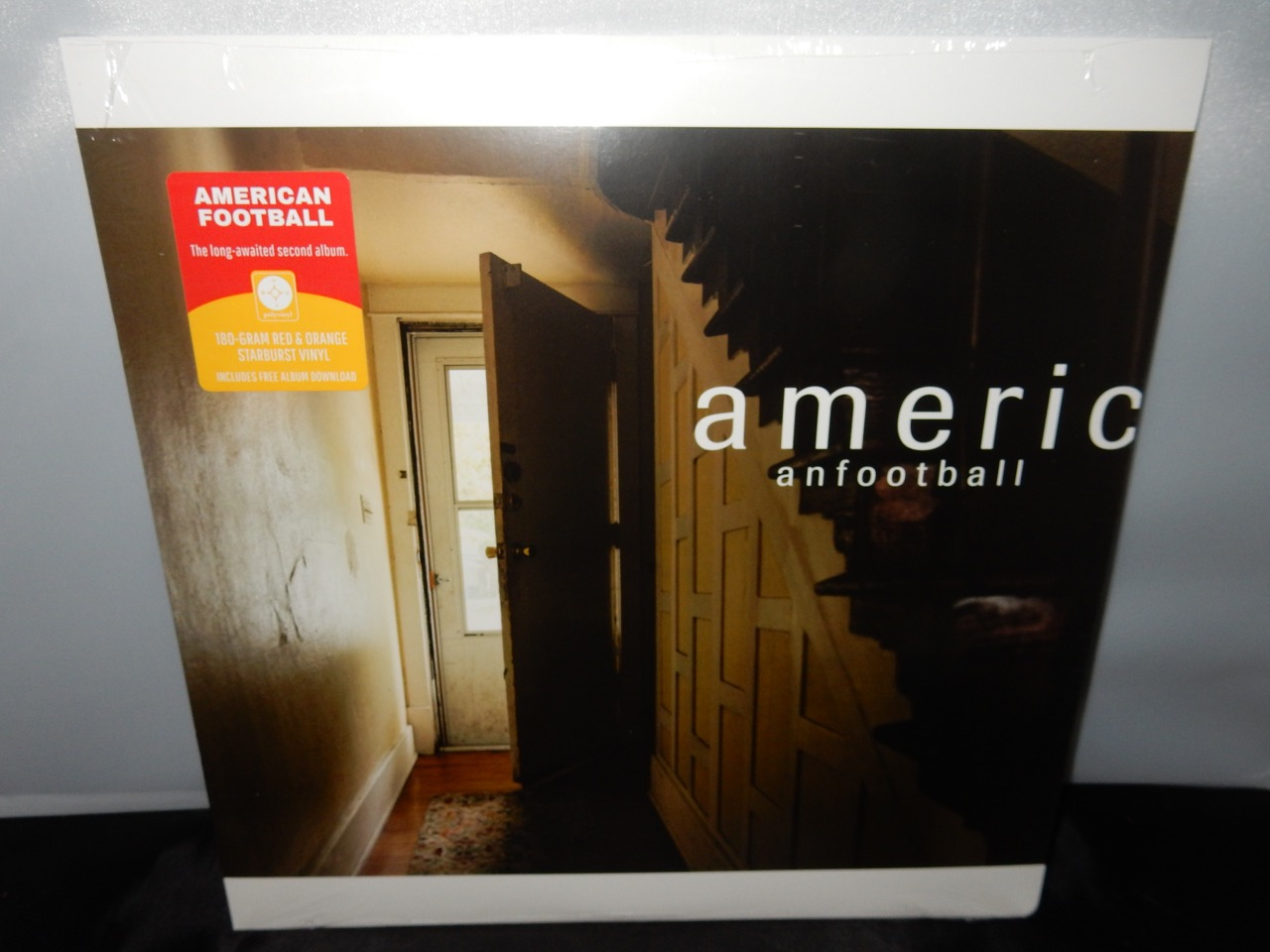 "American Football ""American Football"" Ltd Ed 180G Red/Orange Starburst LP"