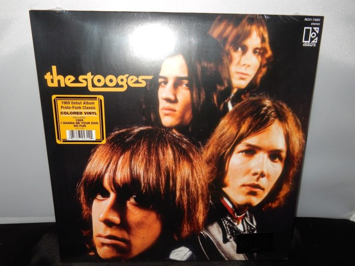 """The Stooges """"The Stooges"""" 2016 Colored Vinyl Rocktober Reissue - brand new sealed copy."""