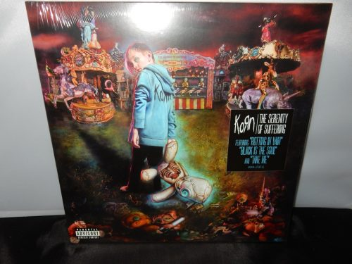 "Korn ""The Serenity Of Suffering"" Vinyl LP with Digital Download Card"