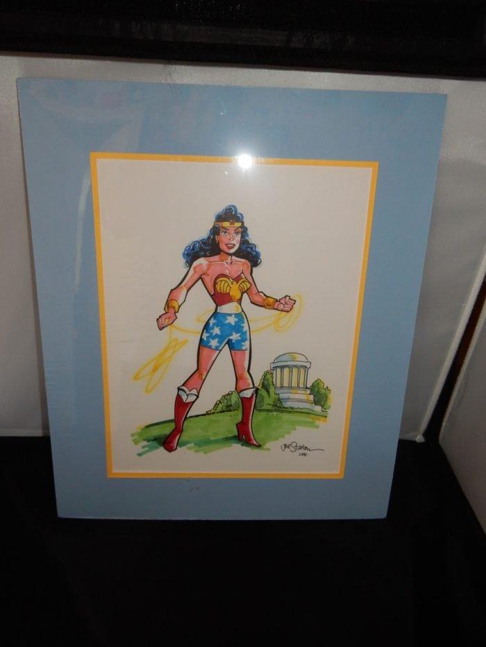 Wonder Woman Original Art by Joe Staton