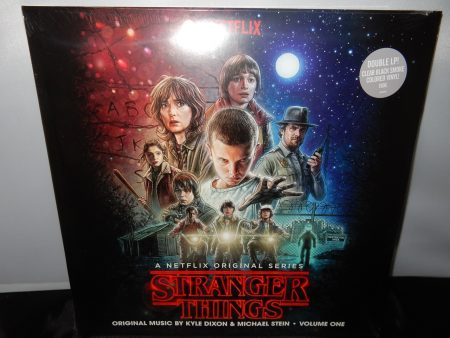 "Michael Stein ""Stranger Things"" 2 Vinyl LPs Clear with Black Smoke Colored Vinyl"