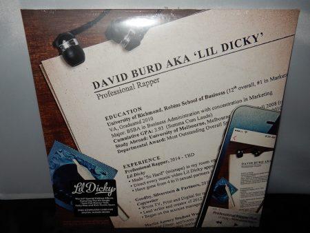 "Lil Dicky ""Professional Rapper"" 2XLP Vinyl Record 2016 NEW Rap"