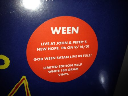 "Ween ""GODWEENSATAN: Live"" Ato Records 2016 NEW"
