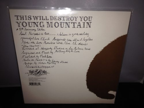 """This Will Destroy You """"Young Mountain"""" 10th Anniversary Edition Vinyl LP 2016"""