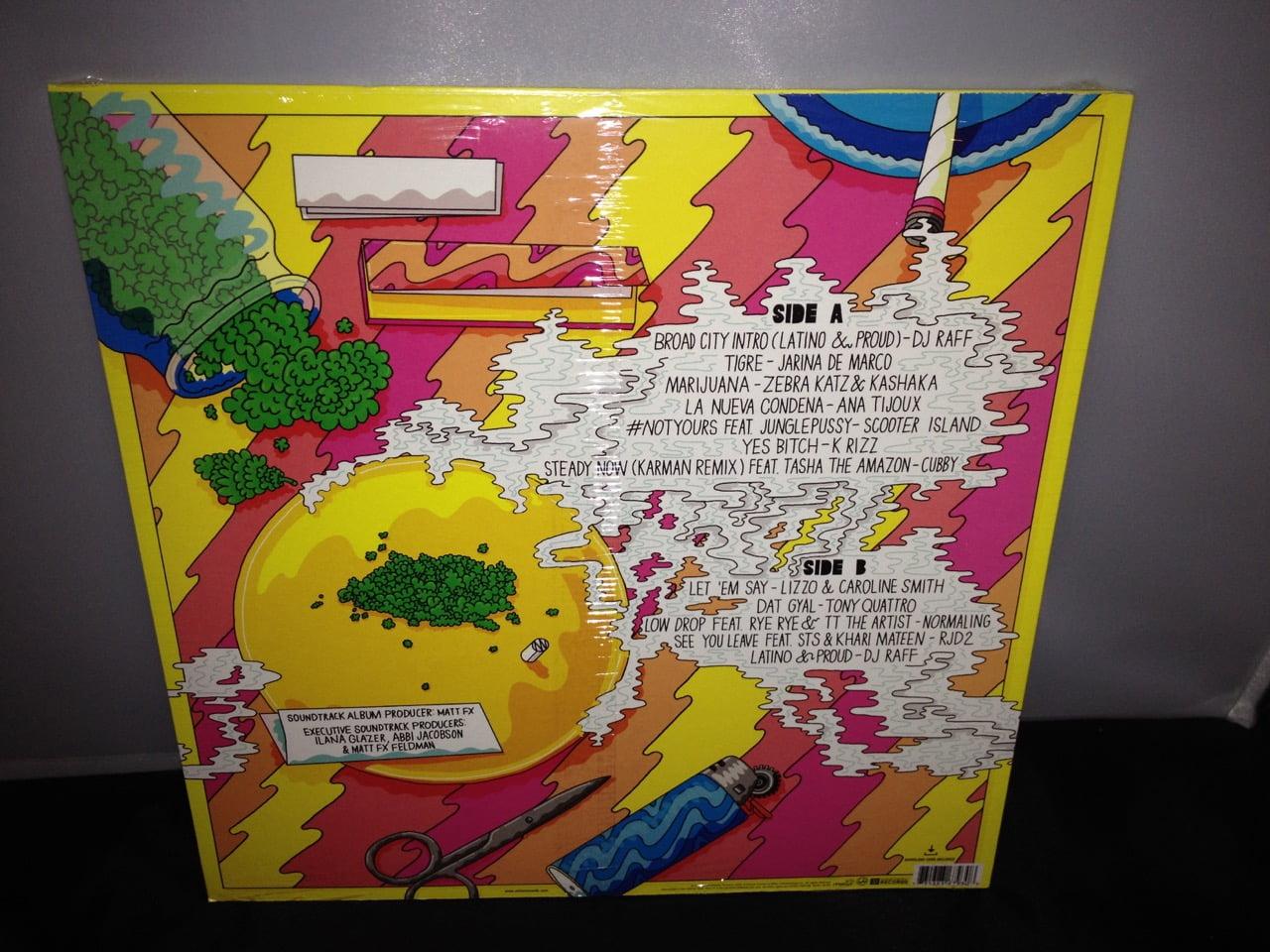 "Broad City ""Original Series Soundtrack"" Yellow Colored Vinyl plus Digital Download 2016"