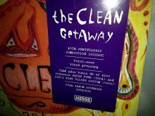 "The Clean ""Getaway"" Double Vinyl LP Remastered 2016"